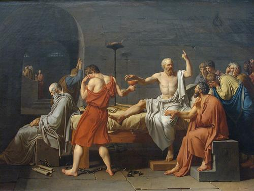 Cái chết của Socrates (Ảnh của Đài phát thanh Hy vọng)