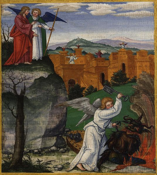 Tranh: Thành Jerusalem mới.