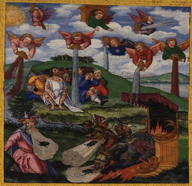 Tranh: Bảy bát thịnh nộ của Đức Chúa Trời.